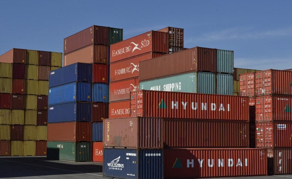 container, freight, transport