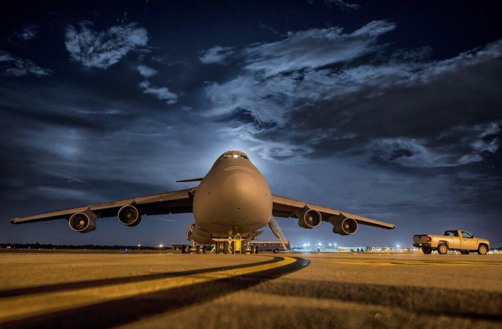 plane, aircraft, airbase